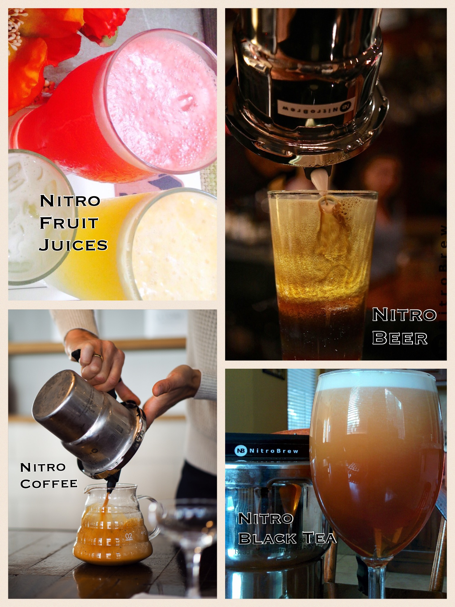 Nitro cold brew machine